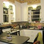 Charming, fully loaded kitchen