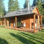 The beautiful cedar cottage