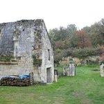 Развалины крепостных стен