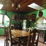 Historias Lodge - dining
