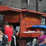 A Butter Beer stand.