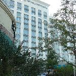 Facade de l'hôtel.