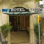 Entree van het hotel