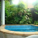Pool in the Cabbana