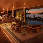 Qualia Long Pavilion Lounge Restaurant HR