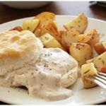 Saory Biscuits and Gravy