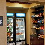Suite Shop Offering Snacks, Beverages and Meals