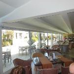 Restaurant - indoor and outdoor eating