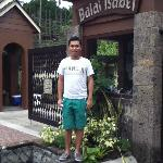 Entrance to Balai Isabel