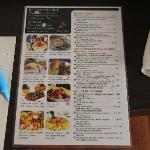 Good value menu in room