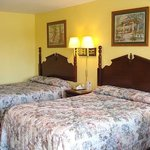 Micanopy Inn Room Photo of Beds