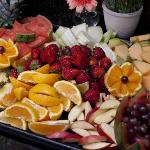 Enjoy fresh fruit with each meal