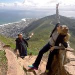 My husband and I on top of Lion's Head :D
