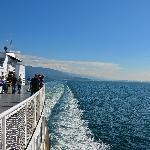 Leaving Horseshoe Bay