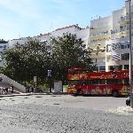 Bus & Taxi stand, Av. da Liberdade