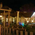 Very attractive outdoor lighting at the Lobster Pot Bridlington