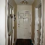 Audubon room hallway