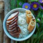 Kid's Meal with Roast Pork
