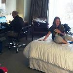 Westin Jersey City room