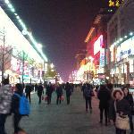 Wangfujing by night