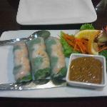 Spring Roll appetizer - fresh
