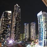 View at at night