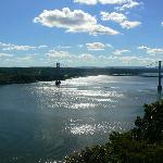 The walk across the Mid-Hudson Bridge is just minutes from the Inn