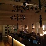 main room with gorgeous lights& lighting