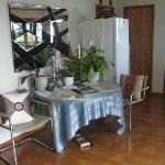Wairua Apartment Dining Table/Kitchen Area