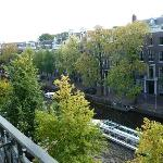 Herengracht view from our room