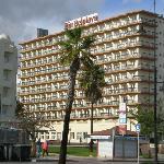 Hotel from promenade