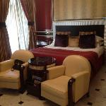 The deco room in Regina Baglioni (room 307)