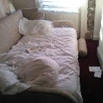 the 'queen size' bed