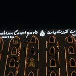 Arabian Courtyard Hotel & Spa by night...