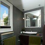 Montmartre, vu de la salle de bain