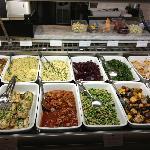 Couscous, salads, noodles, rice, lasagna, etc.