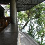 Nice place and a beautiful view of Sao Francisco river