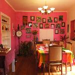The colorful Dining Room