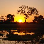 Sunset at Zambezi