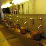 Toilettenwaschraum