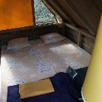 Tent house von innen