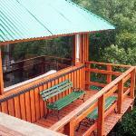 """Cabaña """"El balcón de los ojos grandes"""""""