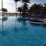 piscine côté mer