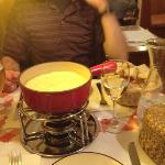 fondue for two!
