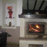Sa cheminée
