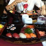 Bâteau menu Shogun