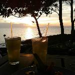 Cocktails and Sunset