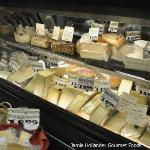 local and world cheeses