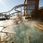The hot pools are open year-round. Photo courtesy Matt Stensland.