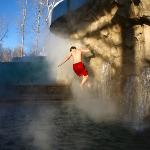 Aquatic Climbing Wall Photo courtesy Corey Kopischke.